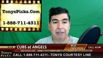 LA Angels vs. Chicago Cubs Free Pick Prediction MLB Baseball Odds Preview 4-4-2016