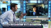 Les valeurs télécoms s'effondrent en Bourse après l'échec du mariage entre Orange et Bouygues - 04/04
