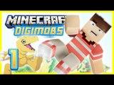 Minecraft Digimon Ep 1 - DIGIMOBS?! (Minecraft Modded Roleplay)