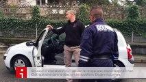 Simulation de l'arrestation d'un passeur de drogue par les douanes du Léman (Annecy, 30 mars 2016)
