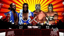 The New Day vs The Lucha Dragons -  Extreme Rules