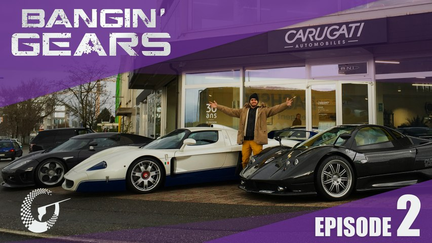 BANGIN' GEARS - Maserati MC12 & Koenigsegg CCX & Pagani Zonda F - Episode 2