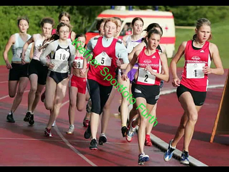 Tribute to girls running steeplechase cross track team