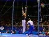 Ejercicio de Anillas de Alexei Nemov En Sydney 2000