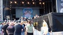 Kvelertak - Mjød (And more) Live 2014 Sweden Rock Festival