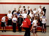The Preposition Song: Sacred Heart of Jesus 5th Grade English Class