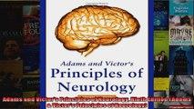 Read  Adams and Victors Principles of Neurology Ninth Edition Adams  Victors Principles of  Full EBook
