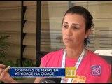 15-01-2015 - COLÔNIAS DE FÉRIAS - ZOOM TV JORNAL