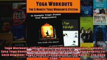 Read  Yoga Workouts The 5 Minute Yoga Workouts System  Quick  Easy Yoga Routine With  Full EBook