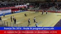 Finale tir progressif Masculin, France Tirs, Sport Boules, Dardilly 2016