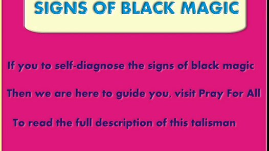 Sign Of Black Magic - How To Identify Black Magic - Black Magic Cure - Pray  for all