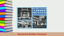 Download  Gaumont British Cinemas PDF Full Ebook