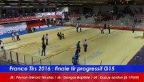 Finale tir progressif G15, France Tirs, Sport Boules, Dardilly 2016