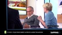 C à Vous : Fabrice Luchini affirme que Laurent Delahousse à la cote chez les homosexuels  (Vidéo)
