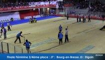 Finale tir rapide en double féminin, 3ème et 4ème places, France Tirs, Sport Boules, Dardilly 2016
