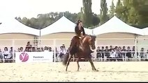 Outstanding Horse Performance - The Bond Between the Horse & Female Rider Will Amaze You!