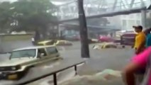 RAW | Video: Hurricane Patricia reaches Mexico; Major Flooding Underway #Patricia
