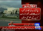 Dailague between Govt & Opposition, Govt summoned joint session of parliament on PIA issue, Report by Shakir Solangi, Dunya News.