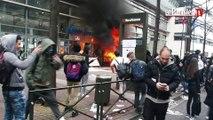 Levallois : le blocus du lycée Léonard-de-Vinci dégénère