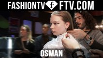 Osman Hairstyle at at London Fashion Week F/W 16-17 | FTV.com