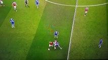 Marcus Rashford Giving McCarthy A Piggy Back Ride ~ 1-0 Manchester United vs Everton 4/3/16