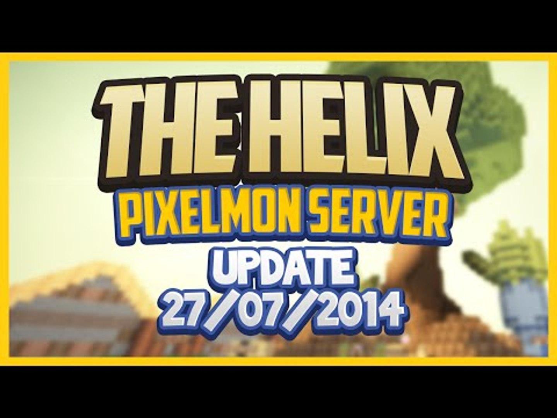 The Helix Pixelmon Sever Update 28/07/2014