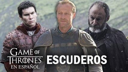 Escuderos | Game of Thrones en español