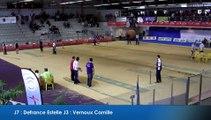 Second passage, tir progressif féminin, France Tirs 2016, Sport Boules, Dardilly 2016