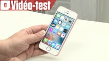 Vidéo-test de l'iPhone SE : petit mais costaud !