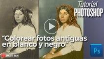 Colorear fotos antiguas en blanco y negro en Photoshop