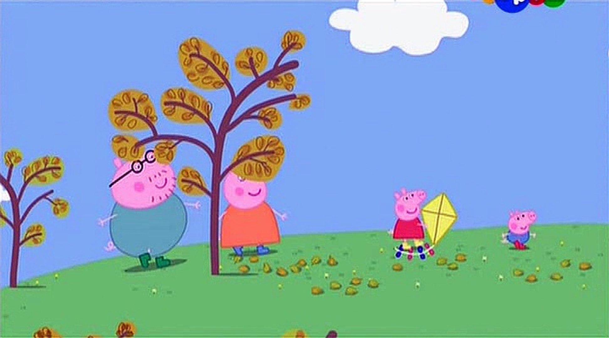 Свинка Пеппа- Воздушный змей- Flying a Kite -Все серии подряд Свинка Пеппа