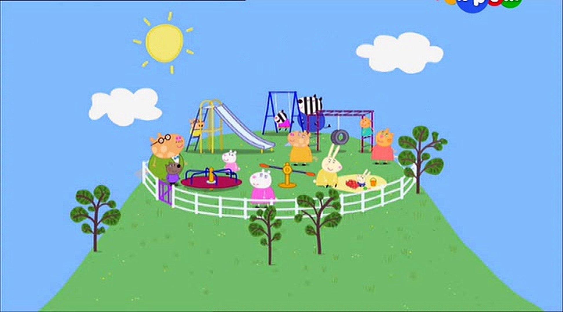 Свинка Пеппа- Дедушка на детской площадке- Grandpa at the Playground -Все серии подряд Свинка Пеппа