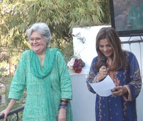 Salima Hashmi talk at Unicorn Gallery