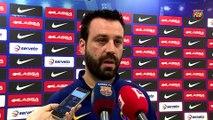 FCB Lassa (hockey): Declaraciones de Ricard Muñoz y Xavi Barroso, previa al Barça Lassa – Calafell