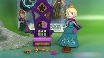Reine des neiges Little Kingdom Couronnement d'Elsa Anna à bicyclette Elsa and throne