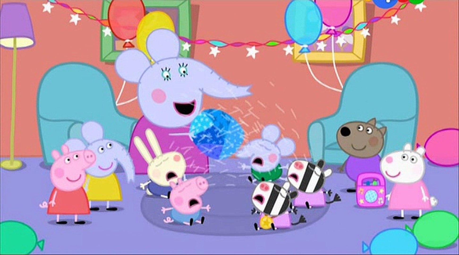 Свинка Пеппа- День рождения Слонёнка Эдмонда- Edmond Elephant's Birthay -Все серии подряд Свинк