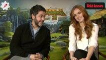 Kung Fu Panda 3 : rencontre avec Manu Payet et Alison Wheeler, les voix françaises du film (INTERVIEW VIDEO)