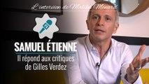 """Samuel Etienne : """"J'ai eu Julien Lepers au téléphone, il est triste et en colère"""""""