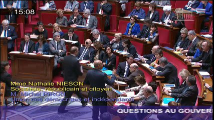 QAG - Situation au Haut-Karabagh - Réponse d'H. Désir à Nathalie Nieson