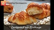 Croissants au Fromage - Cheese Croissants - كرواسون بالجبن
