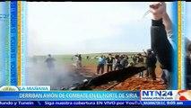 Rebeldes sirios derriban avión militar en la provincia de Alepo y secuestran al piloto