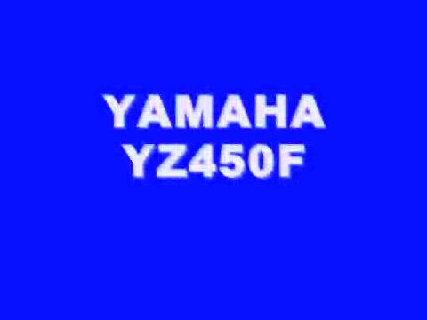 YAMAHA YZ450F