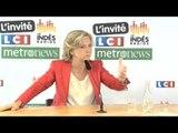 Valérie Pécresse - Elections régionales Pas de cumul des mandats pour Valérie Pécresse