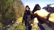 body camera shows knife-wielding man attacking officer