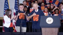 Joe Biden Urges End to Culture of Abuse on College Campuses