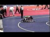 Justin Joseph 2006 Wrestling State final match.  Michigan Division II  145 lbs