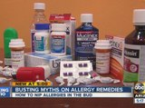 ABC15 busting myths on allergy remedies