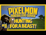 Pixelmon Server (Minecraft Pokemon Mod) Pokeballers Lets Play Season 2 Ep.11 Hunting for a Beast!