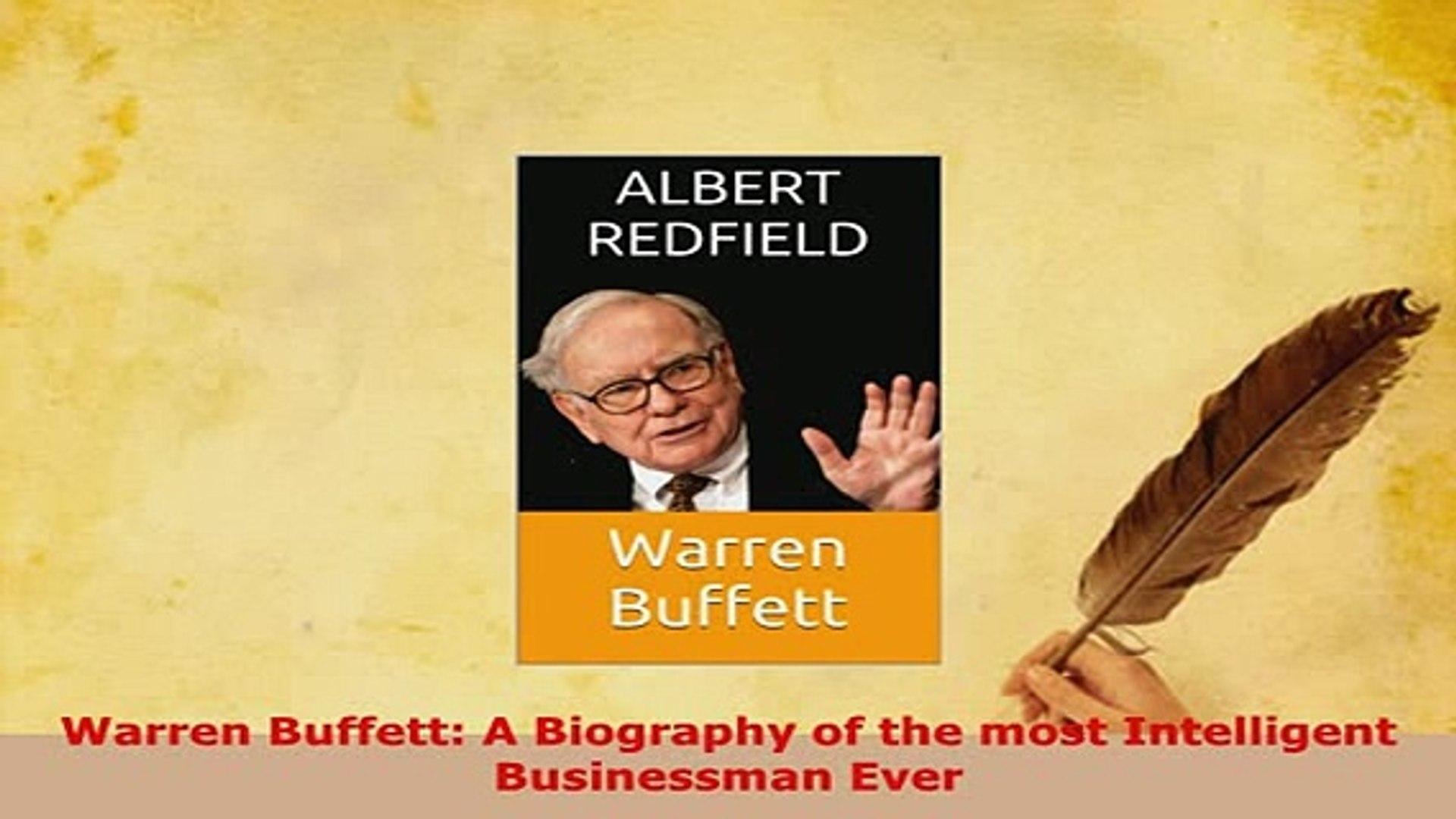 Fine Pdf Warren Buffett A Biography Of The Most Intelligent Businessman Ever Free Books Download Free Architecture Designs Scobabritishbridgeorg