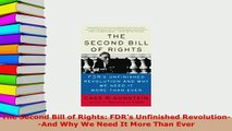 PDF  The Second Bill of Rights FDRs Unfinished RevolutionAnd Why We Need It More Than Ever PDF Full Ebook